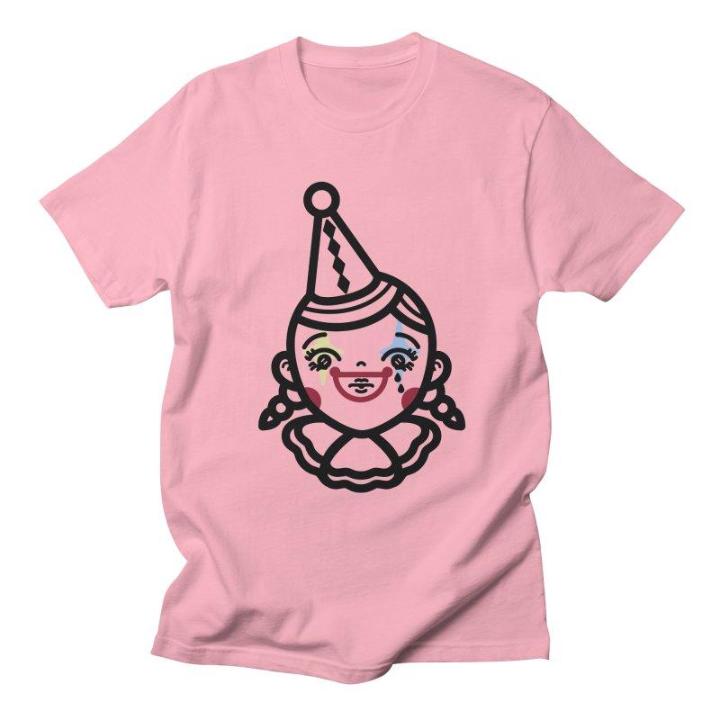 don't cry little clown girl Women's Unisex T-Shirt by 3lw's Artist Shop
