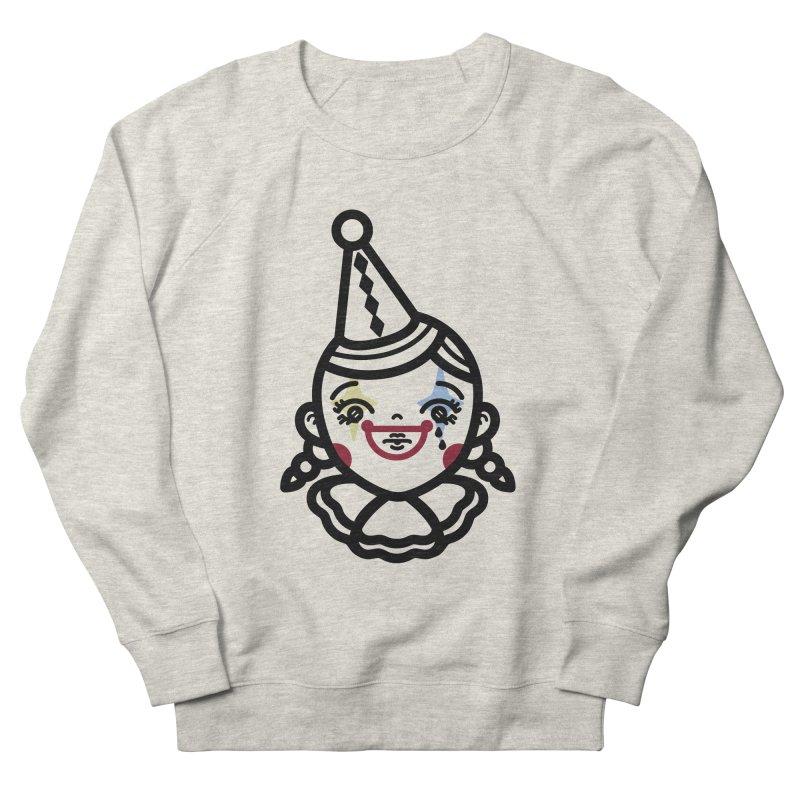 don't cry little clown girl Women's French Terry Sweatshirt by 3lw's Artist Shop