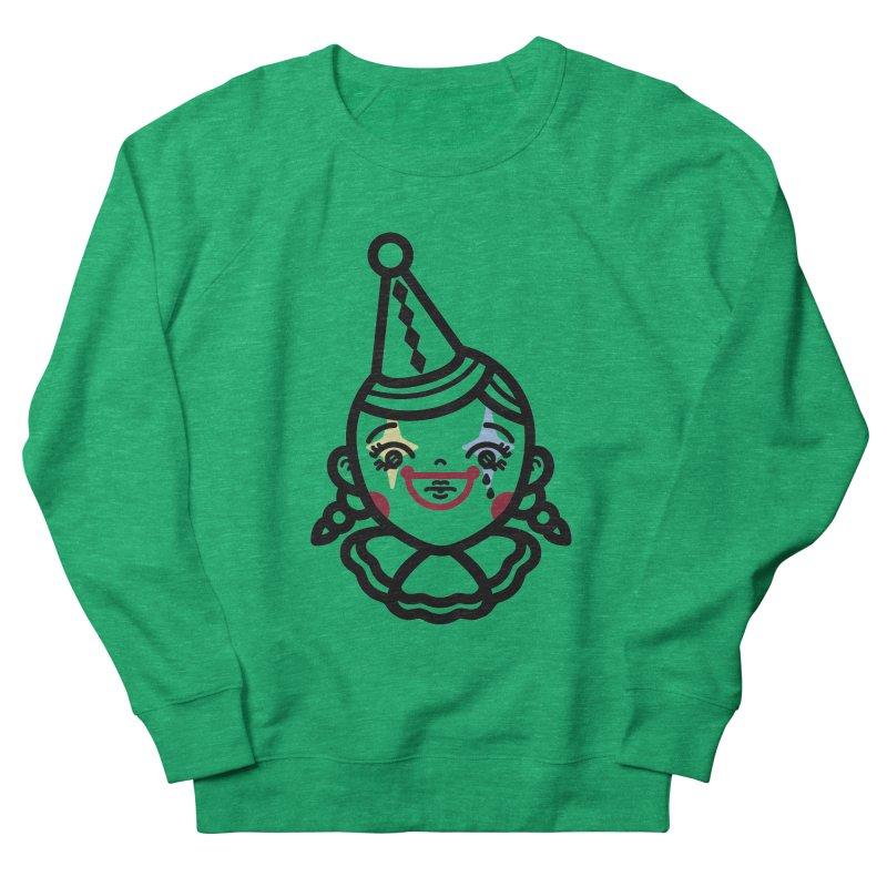 don't cry little clown girl Men's Sweatshirt by 3lw's Artist Shop