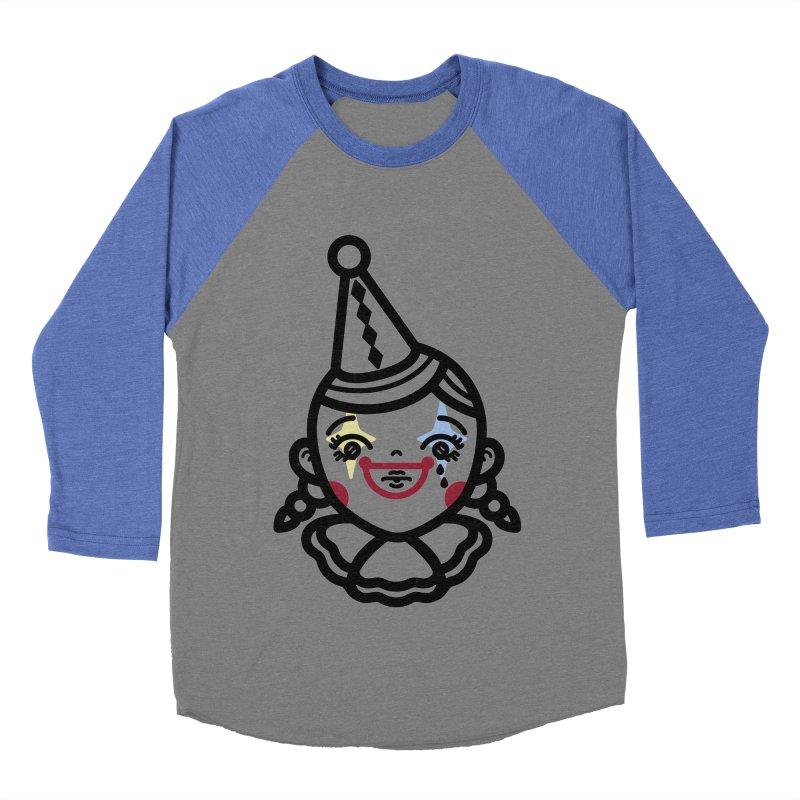 don't cry little clown girl Women's Baseball Triblend T-Shirt by 3lw's Artist Shop