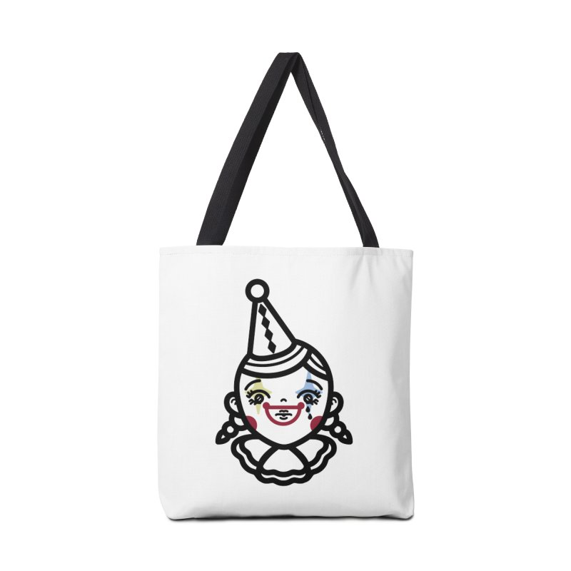 don't cry little clown girl Accessories Bag by 3lw's Artist Shop