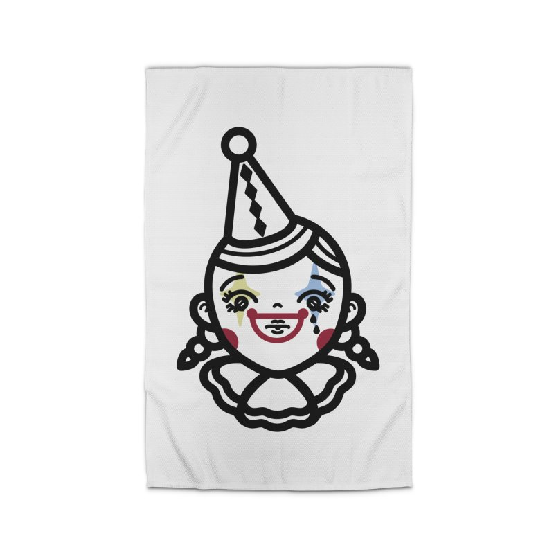 don't cry little clown girl Home Rug by 3lw's Artist Shop