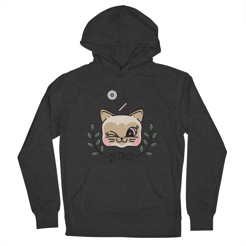 destroy kitty Men's Pullover Hoody by 3lw's Artist Shop