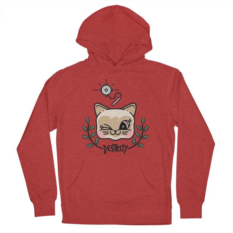 destroy kitty Men's Pullover Hoody by 3lw's Artist Shop