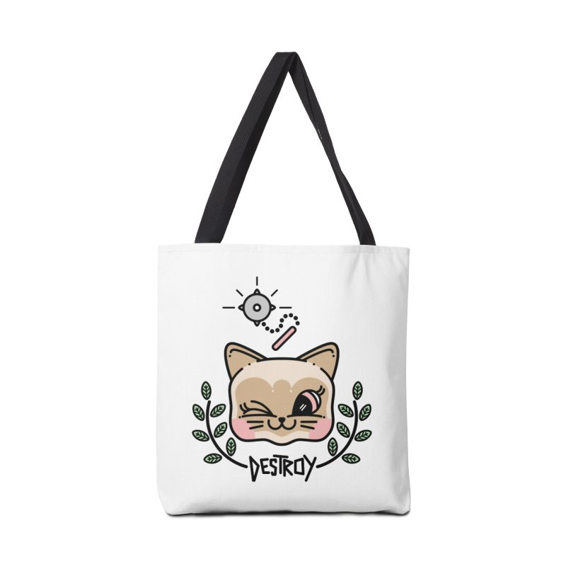 destroy kitty Accessories Bag by 3lw's Artist Shop