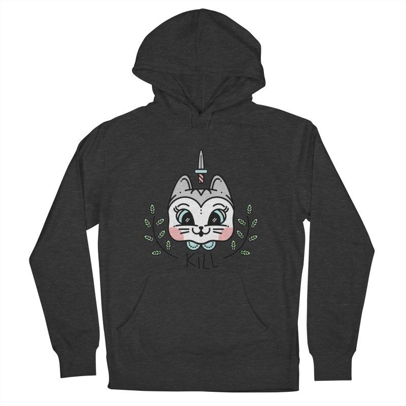 Kitty kill Women's Pullover Hoody by 3lw's Artist Shop