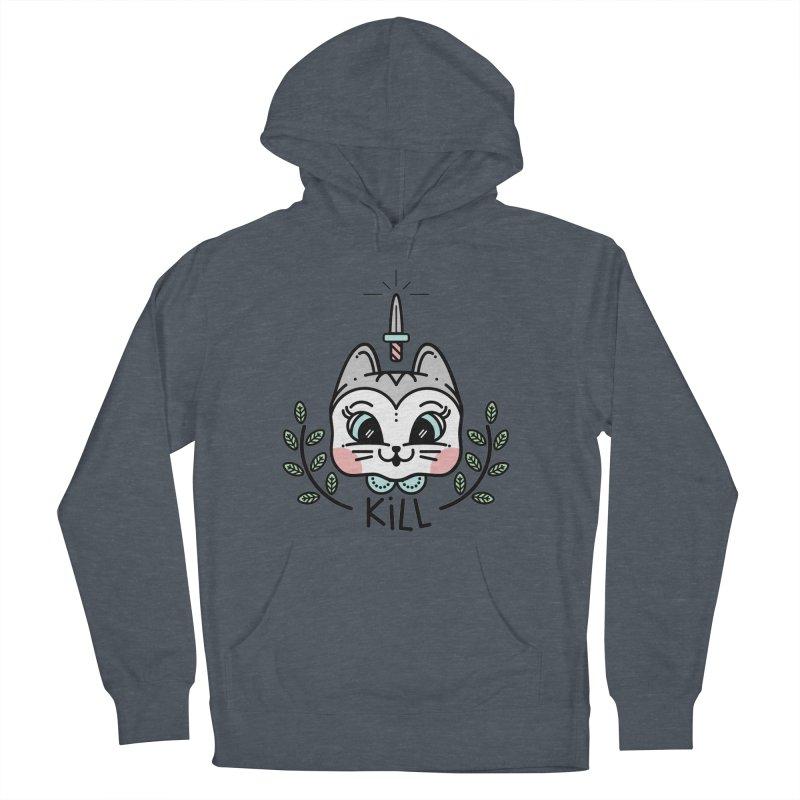Kitty kill Men's Pullover Hoody by 3lw's Artist Shop