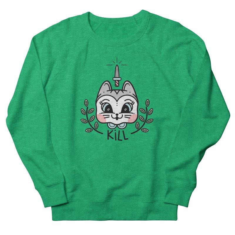 Kitty kill Women's Sweatshirt by 3lw's Artist Shop