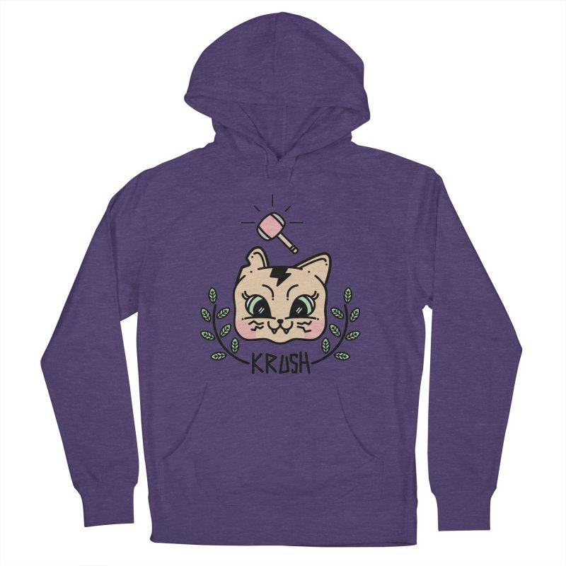 Kitty krush Women's Pullover Hoody by 3lw's Artist Shop