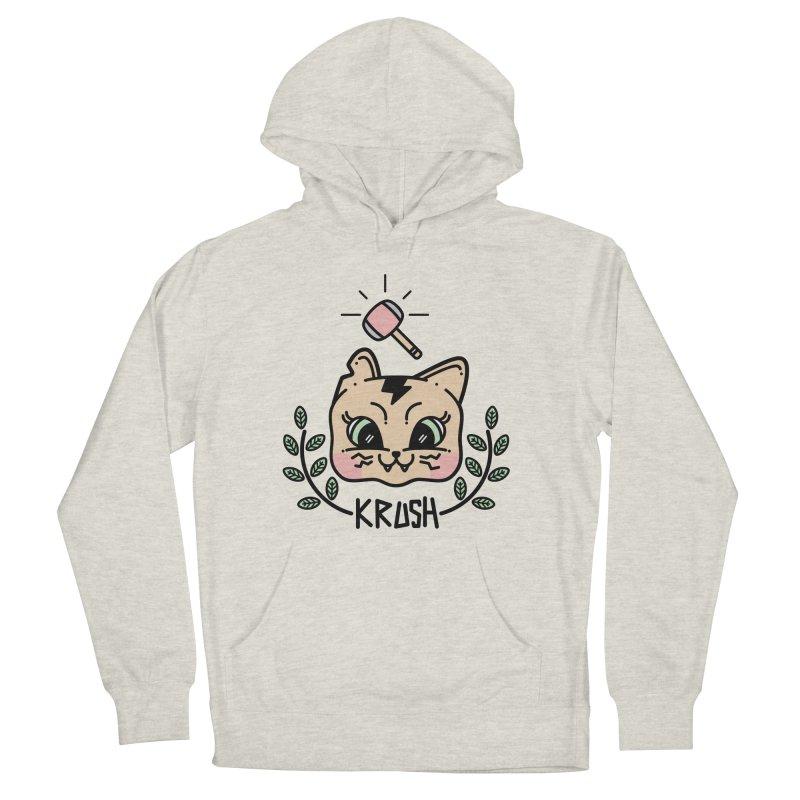 Kitty krush Men's Pullover Hoody by 3lw's Artist Shop