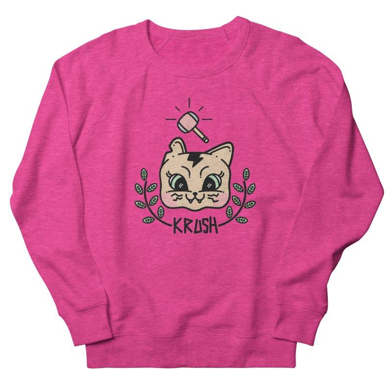 Kitty krush Men's Sweatshirt by 3lw's Artist Shop