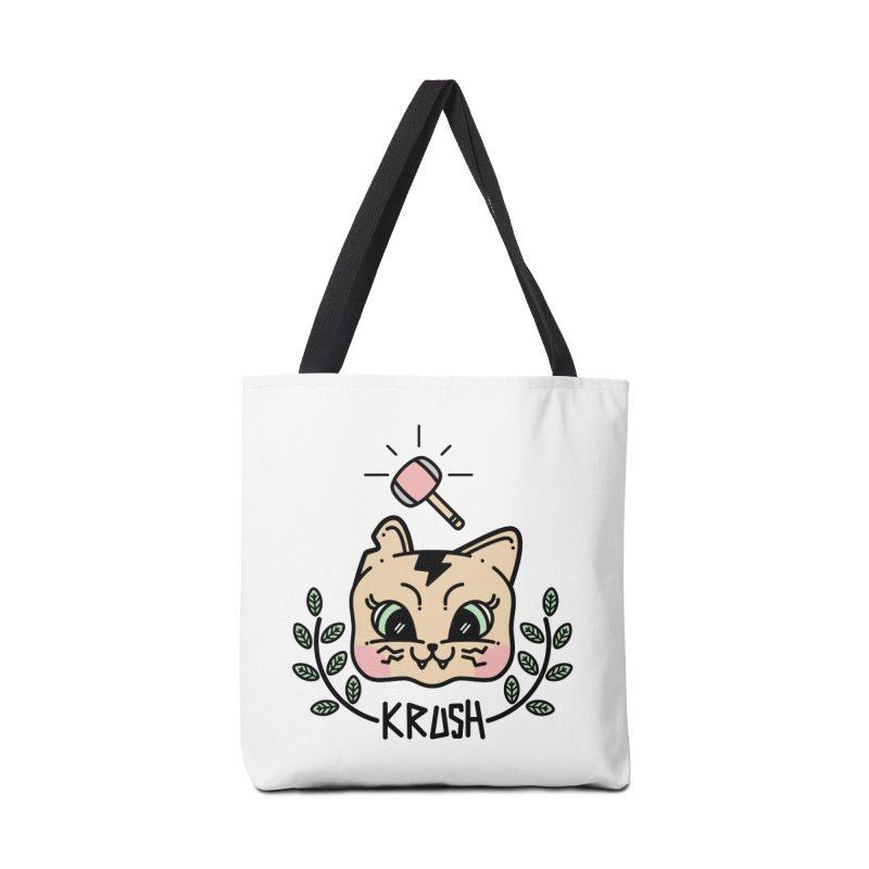 Kitty krush Accessories Bag by 3lw's Artist Shop