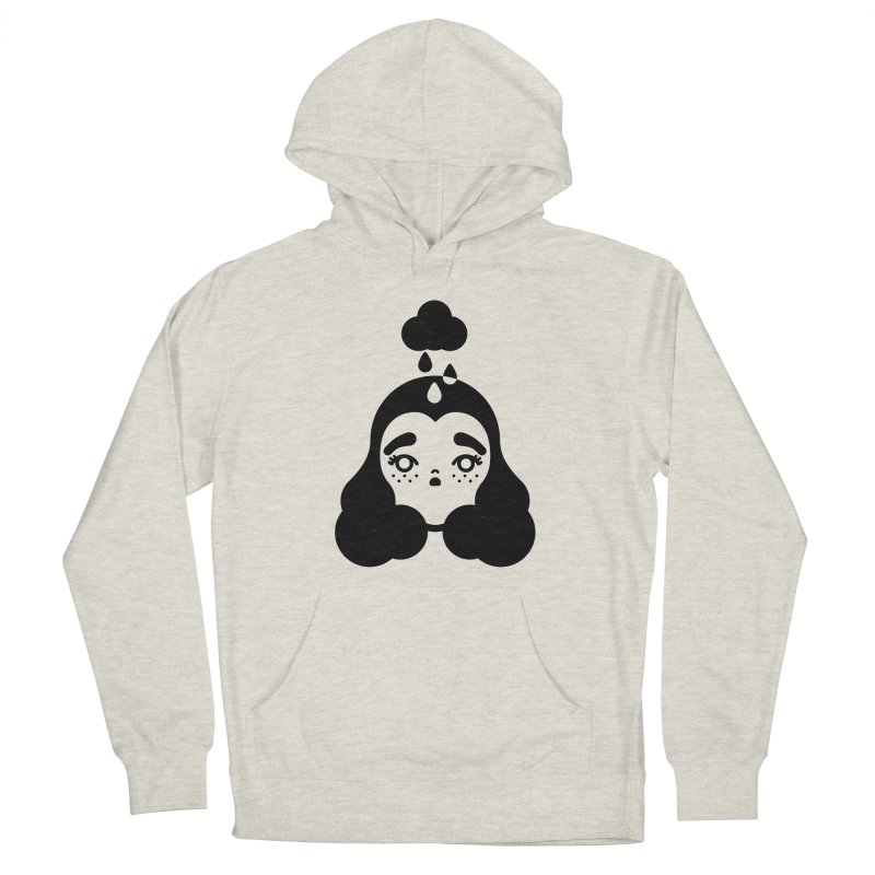 frizz girl Women's French Terry Pullover Hoody by Cristóbal Urrea
