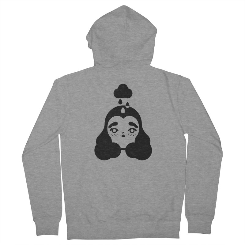 frizz girl Women's French Terry Zip-Up Hoody by 3lw's Artist Shop