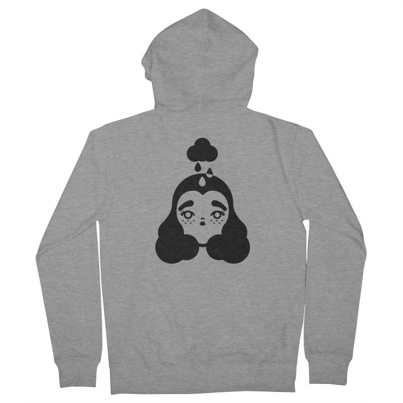 frizz girl Men's Zip-Up Hoody by 3lw's Artist Shop