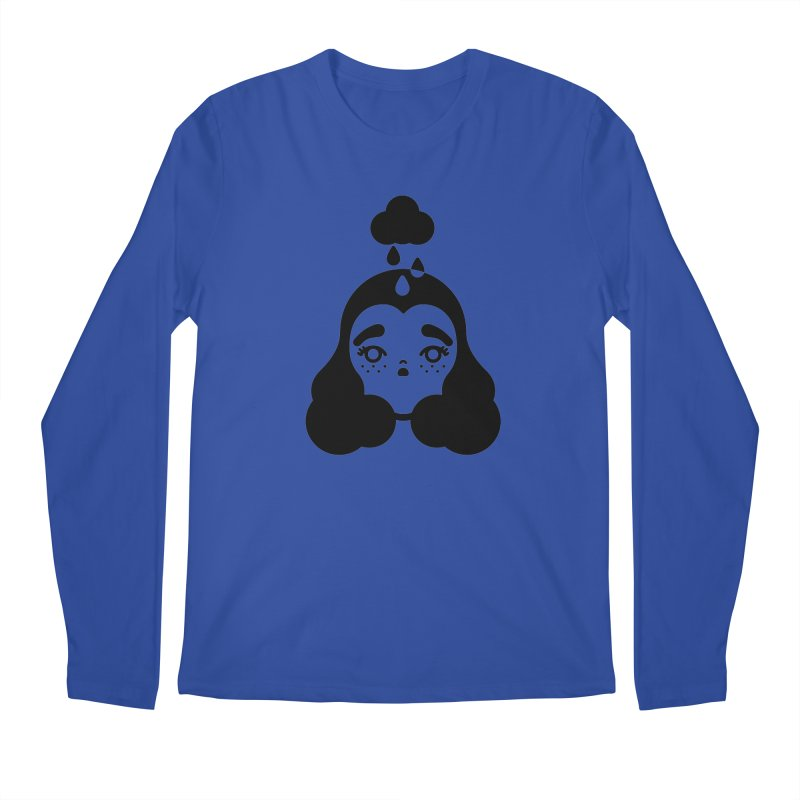frizz girl Men's Regular Longsleeve T-Shirt by Cristóbal Urrea