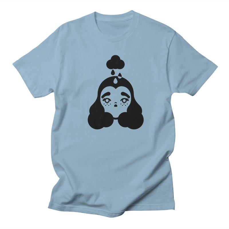 frizz girl Men's Regular T-Shirt by Cristóbal Urrea