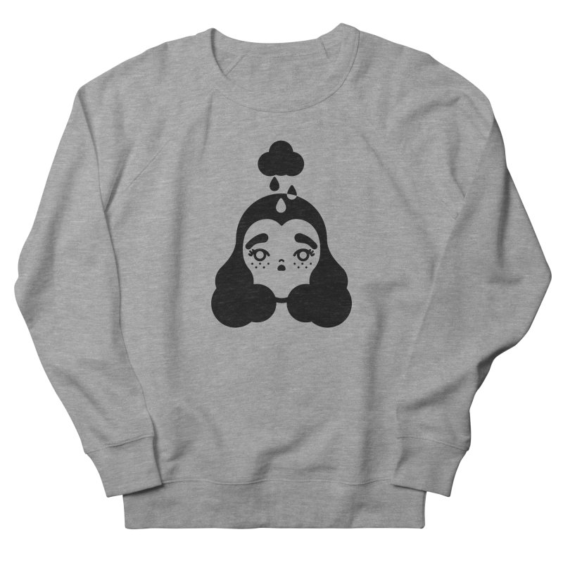 frizz girl Men's French Terry Sweatshirt by Cristóbal Urrea
