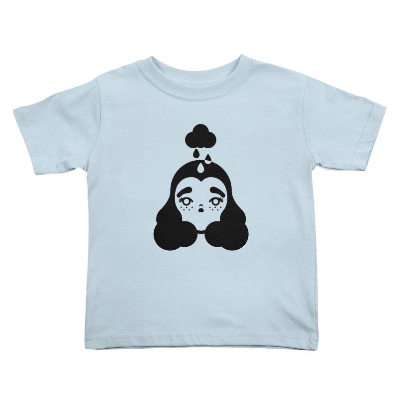 frizz girl Kids Toddler T-Shirt by Cristóbal Urrea