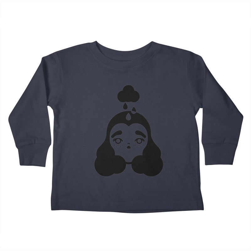 frizz girl Kids Toddler Longsleeve T-Shirt by 3lw's Artist Shop