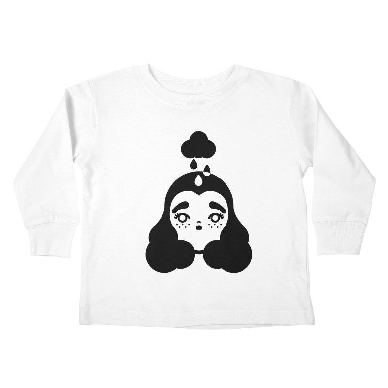 frizz girl Kids Toddler Longsleeve T-Shirt by 3lw's Artist Shop