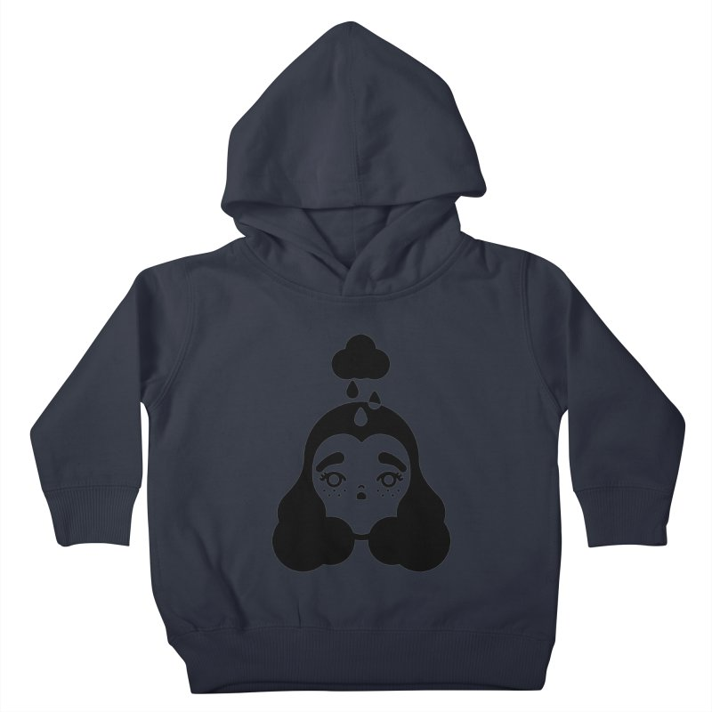 frizz girl Kids Toddler Pullover Hoody by 3lw's Artist Shop