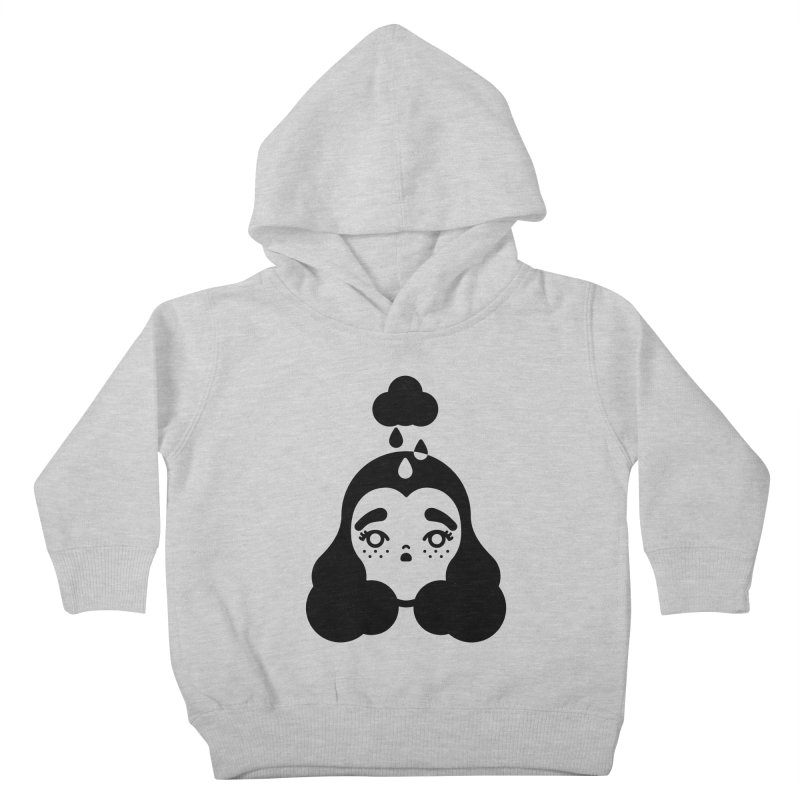 frizz girl Kids Toddler Pullover Hoody by Cristóbal Urrea