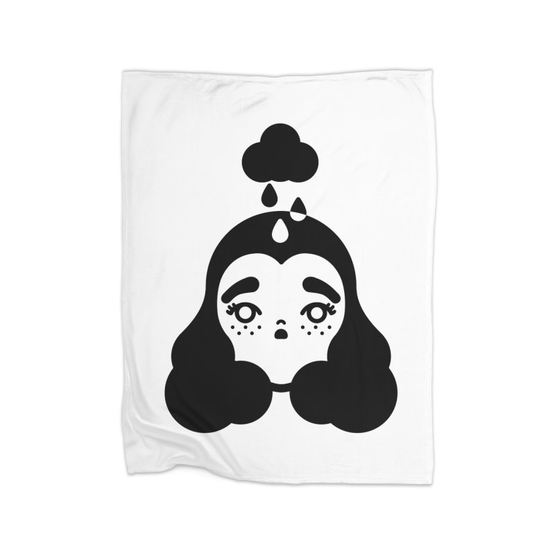 frizz girl Home Blanket by 3lw's Artist Shop