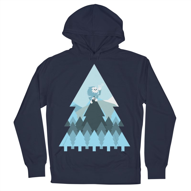 First day of winter Women's French Terry Pullover Hoody by Cristóbal Urrea