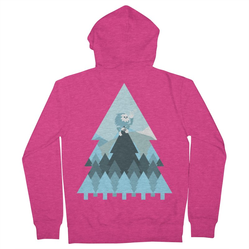 First day of winter Women's French Terry Zip-Up Hoody by 3lw's Artist Shop