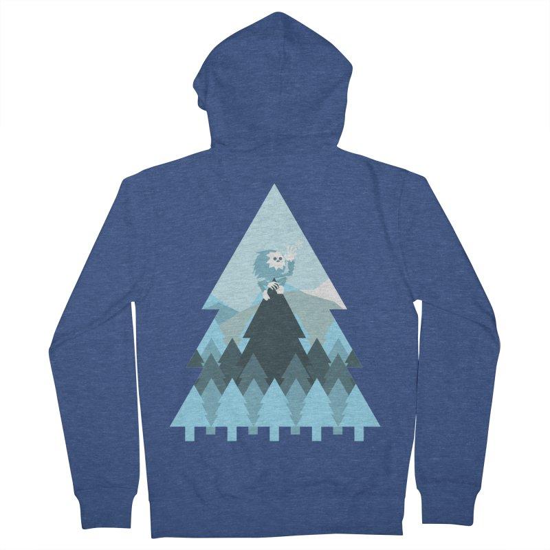 First day of winter Men's Zip-Up Hoody by 3lw's Artist Shop