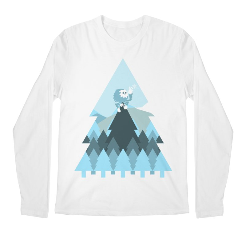 First day of winter Men's Longsleeve T-Shirt by 3lw's Artist Shop