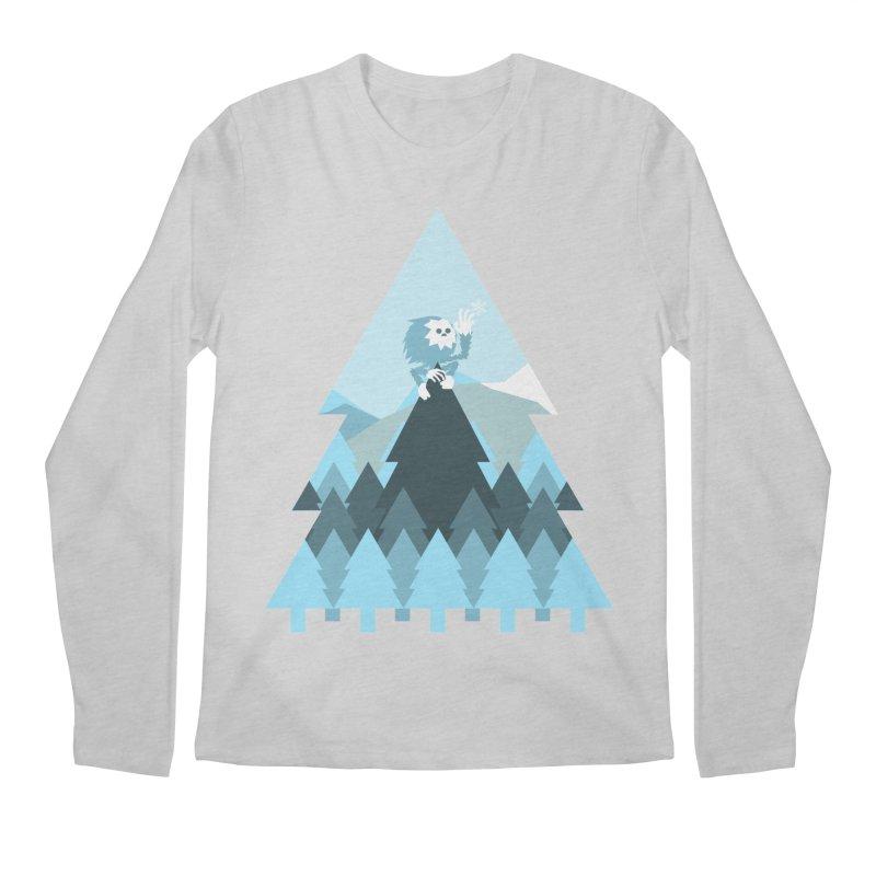 First day of winter Men's Regular Longsleeve T-Shirt by Cristóbal Urrea