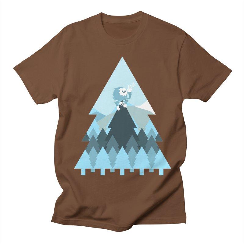 First day of winter Women's Regular Unisex T-Shirt by 3lw's Artist Shop