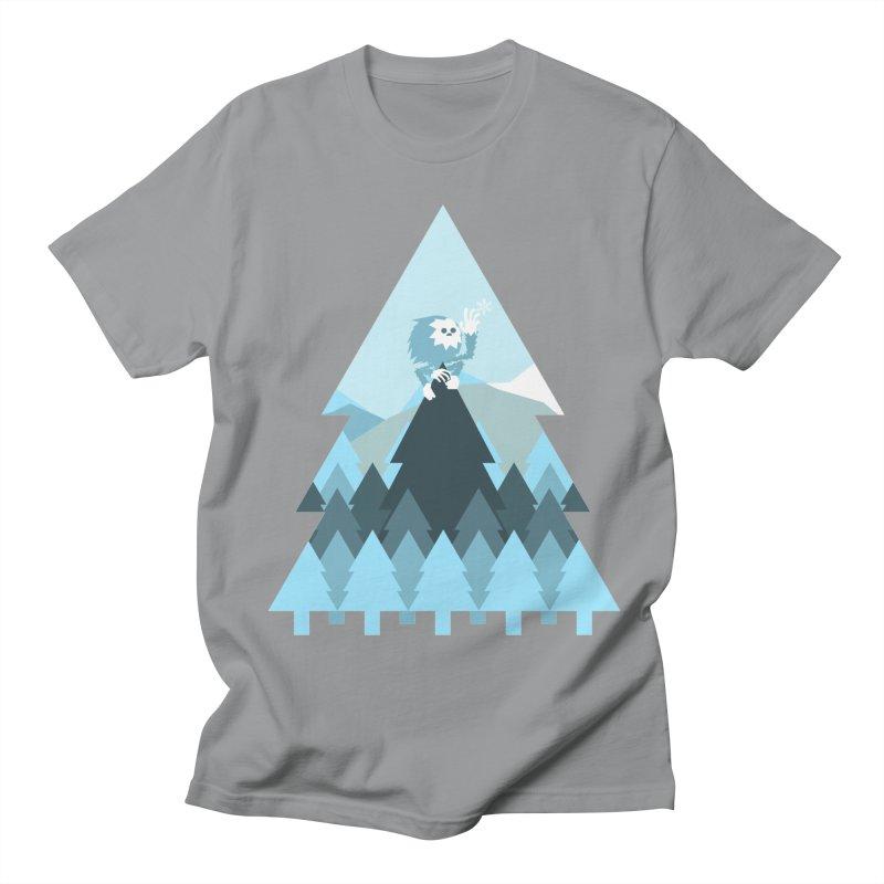 First day of winter Men's Regular T-Shirt by Cristóbal Urrea