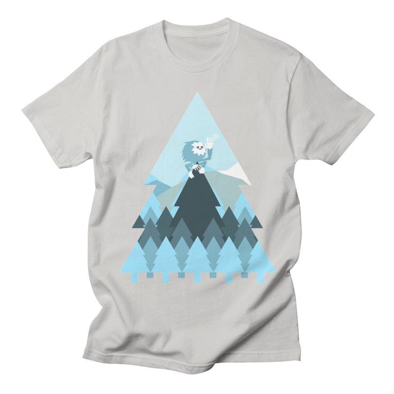 First day of winter Women's Regular Unisex T-Shirt by Cristóbal Urrea