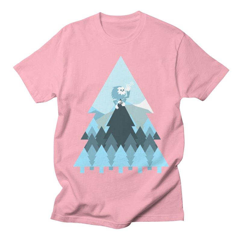 First day of winter Men's T-Shirt by 3lw's Artist Shop