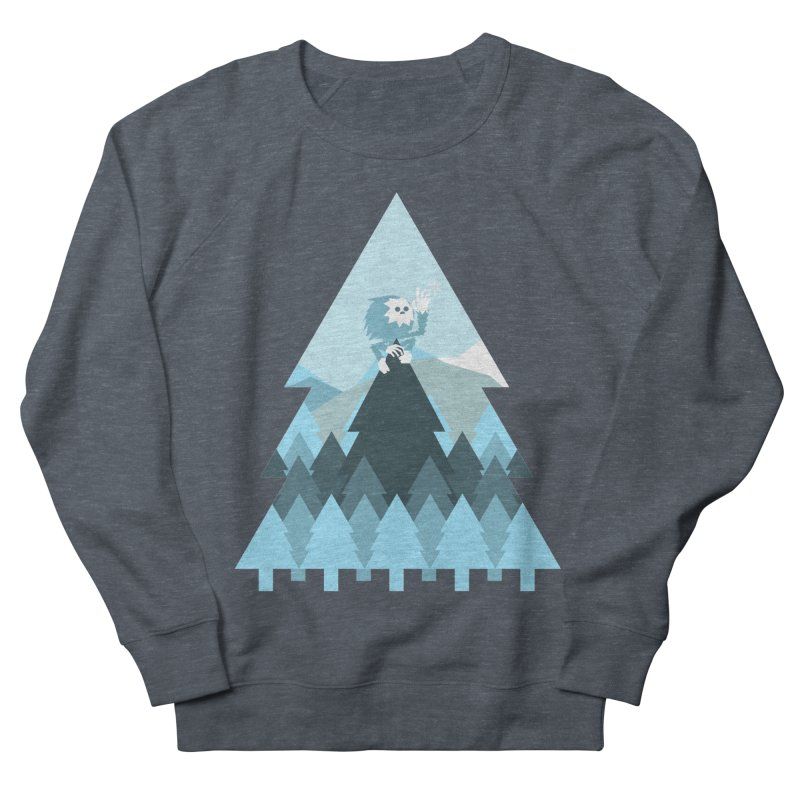 First day of winter Men's French Terry Sweatshirt by Cristóbal Urrea