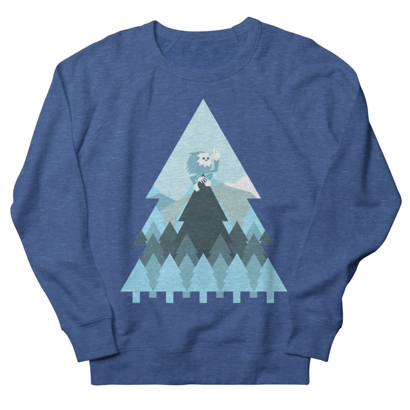 First day of winter Men's French Terry Sweatshirt by 3lw's Artist Shop