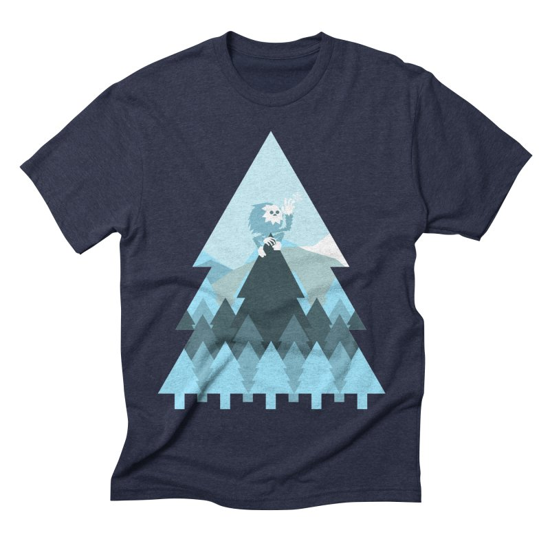 First day of winter Men's Triblend T-Shirt by 3lw's Artist Shop