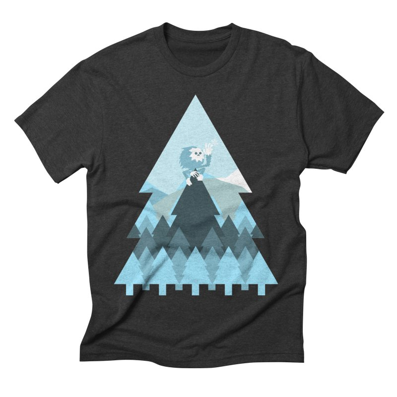 First day of winter Men's Triblend T-Shirt by Cristóbal Urrea