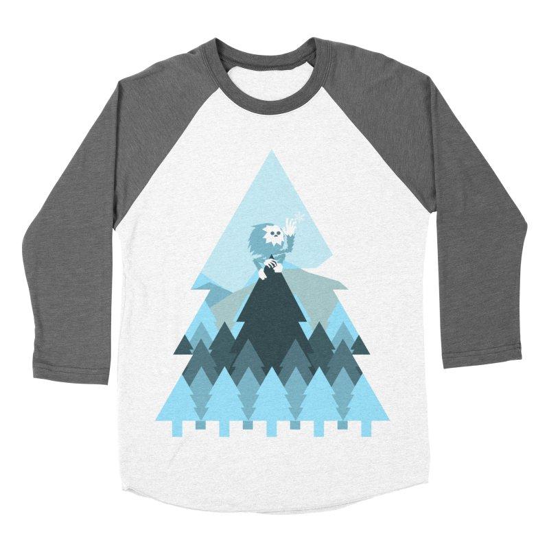 First day of winter Women's Baseball Triblend Longsleeve T-Shirt by Cristóbal Urrea