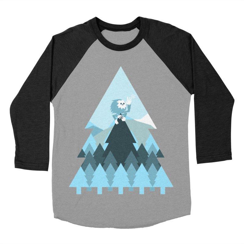 First day of winter Men's Baseball Triblend Longsleeve T-Shirt by Cristóbal Urrea