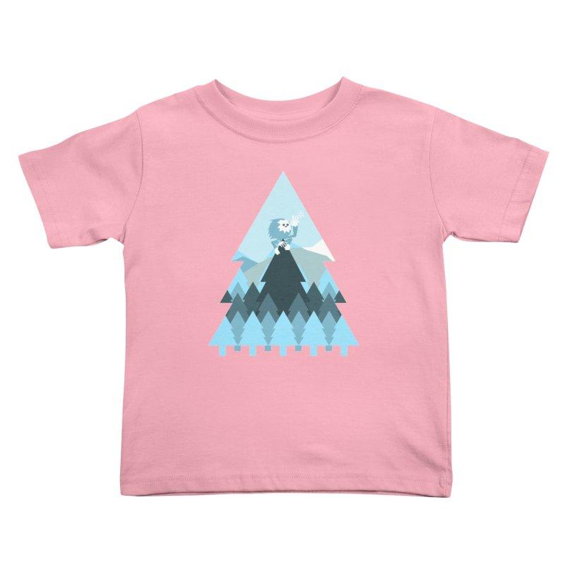 First day of winter Kids Toddler T-Shirt by 3lw's Artist Shop