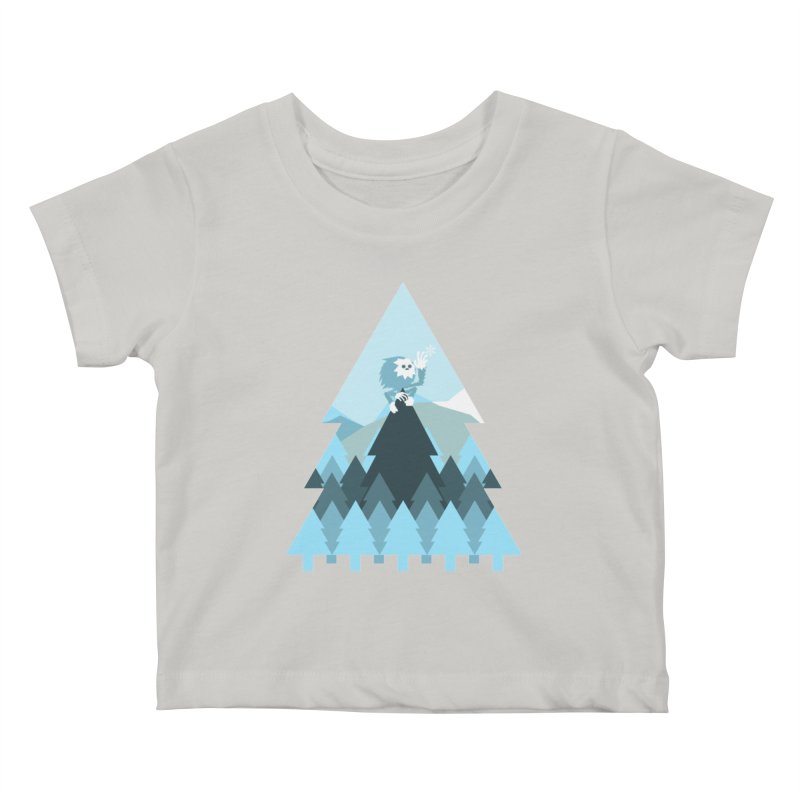 First day of winter Kids Baby T-Shirt by 3lw's Artist Shop