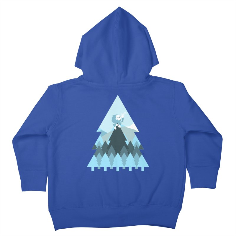 First day of winter Kids Toddler Zip-Up Hoody by 3lw's Artist Shop