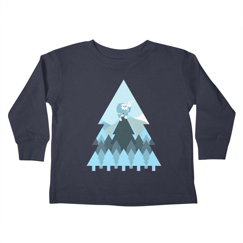 First day of winter Kids Toddler Longsleeve T-Shirt by 3lw's Artist Shop