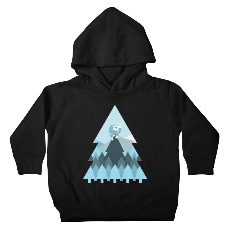 First day of winter Kids Toddler Pullover Hoody by 3lw's Artist Shop