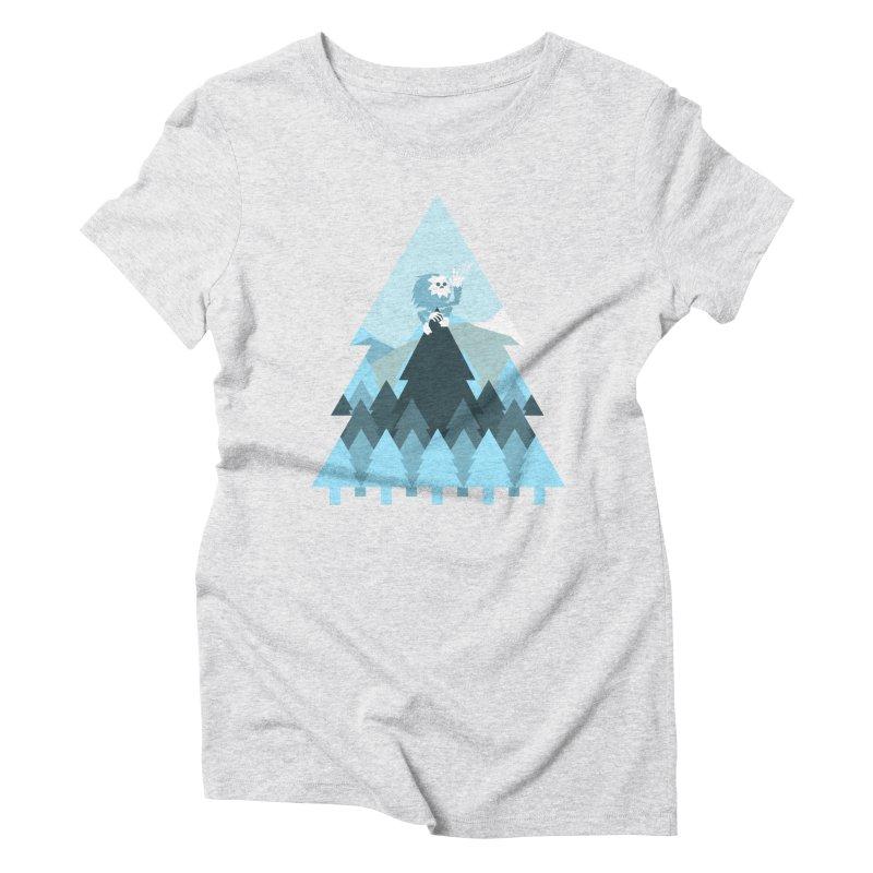 First day of winter Women's Triblend T-Shirt by Cristóbal Urrea