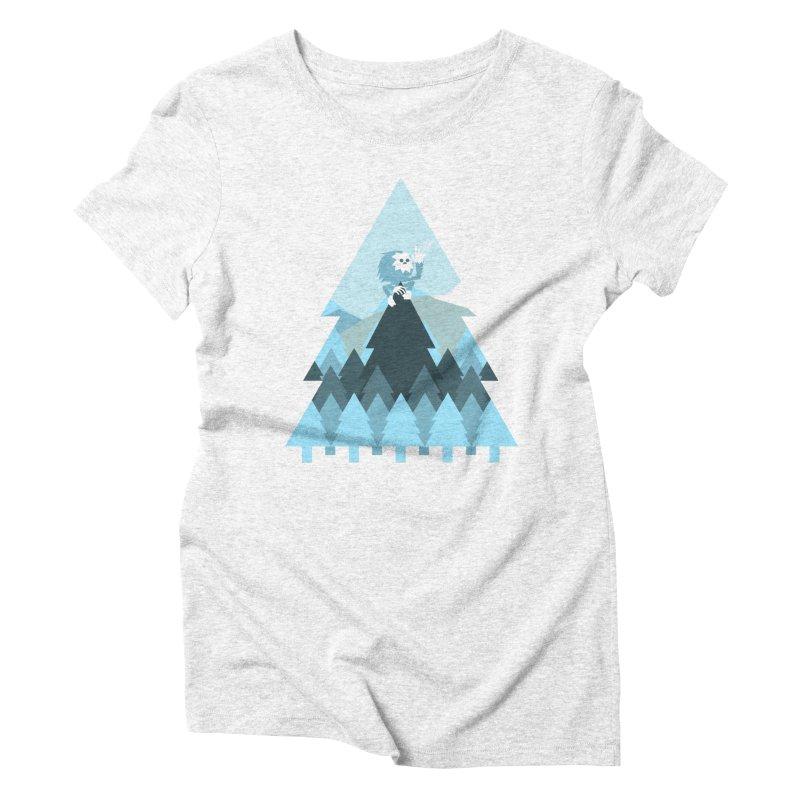 First day of winter Women's Triblend T-shirt by 3lw's Artist Shop